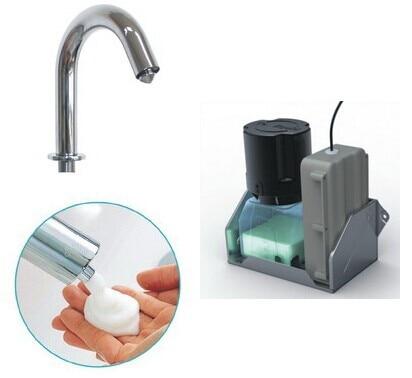 2014 nouveau Design distributeur de savon en mousse capteur de mousse distributeur de savon distributeur automatique de savon distributeur de mousse pour salle de bain