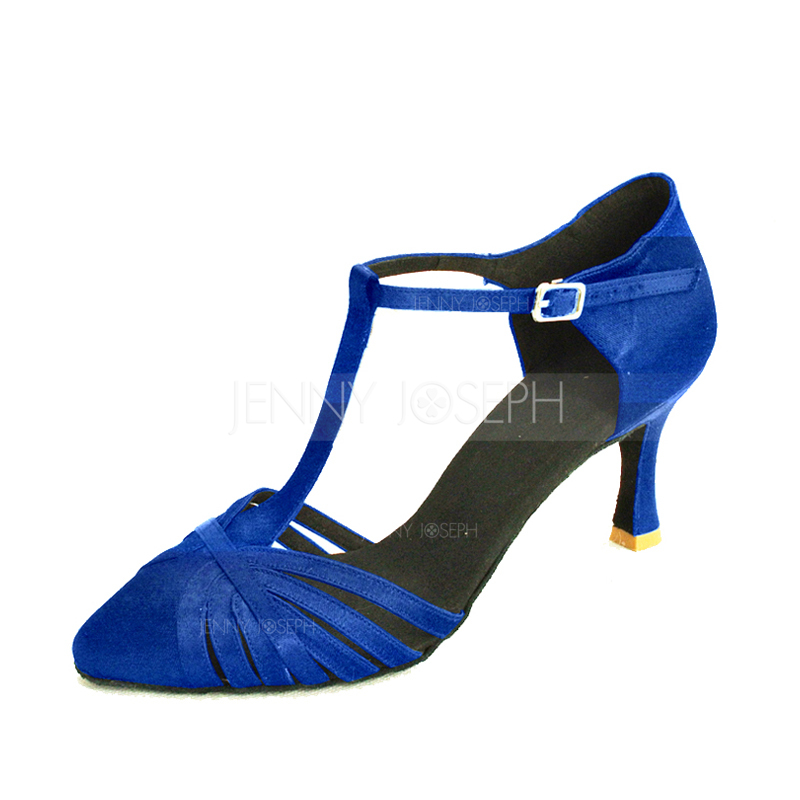 High Quality Ladies Women Tango Salsa Ballroom Latin Dance Shoes with Suede Sole 3 Inch HeelsHigh Quality Ladies Women Tango Salsa Ballroom Latin Dance Shoes with Suede Sole 3 Inch Heels
