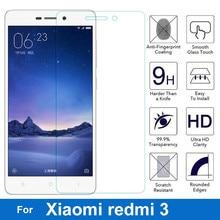 2.5D 0.26 мм 9 9н Премиум Закаленное Стекло Экрана Протектор Для Xiaomi Redmi 3 3 С 3X 3Pro Анти-Взрыв Мобильного Телефона защитная Пленка