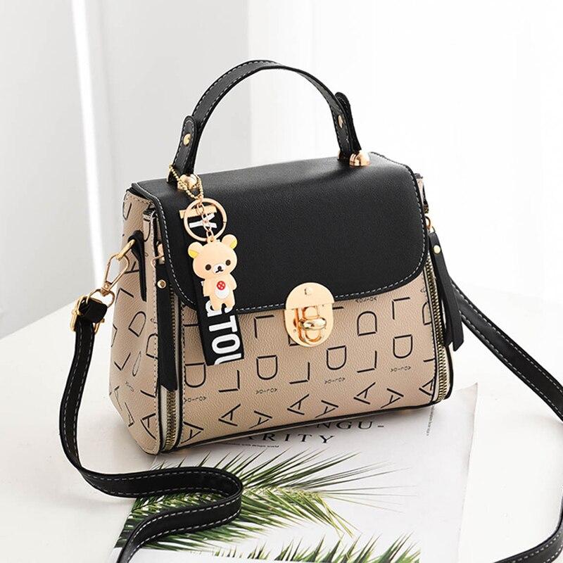 Popular Woman Handbags Fashion Leather Messenger Bag Trendy new one-shoulder diagonal small square bag Bolsa Feminina louis gg 43