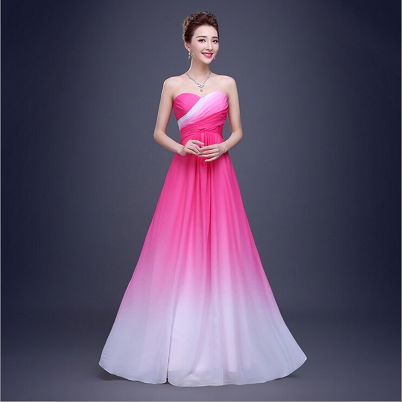 new designer a line long robe women wedding party formal evening gowns dress colorful 2017