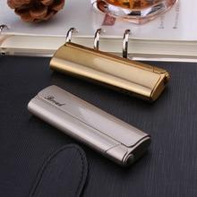 цена на Torch Turbo Lighter Jet Butane Blue Fire Cigar Pipe Lighter Gas Cigarette 1300 C Windproof Lighter