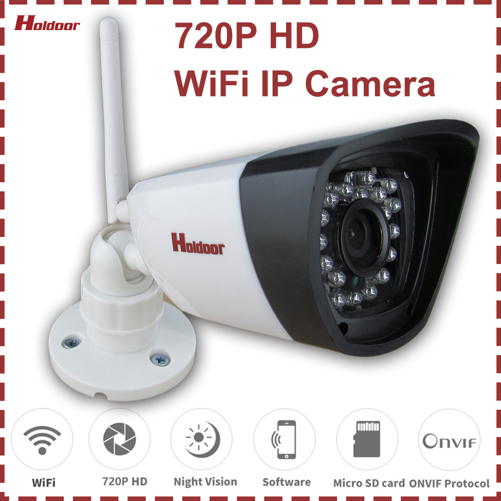 WiFi P2P IP Camera 720P Outdoor Waterproof Home Security Video Surveillance IR Night Vision Motion Detection Email Alert hbss 4ch 1 0m hd 2tb hdd poe ip66 waterproof motion detection 1280 720p ir night vision outdoor mult lang surveillance system