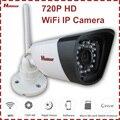 Wifi p2p cámara ip 720 p impermeable al aire libre ir de la visión nocturna de vigilancia de vídeo doméstico de seguridad motion detección de alerta