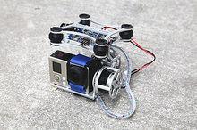 RCMOY 160G Light gimbal for DJI Phantom Gopro CNC Brushless Camera Gimbal W/Motors & Controller