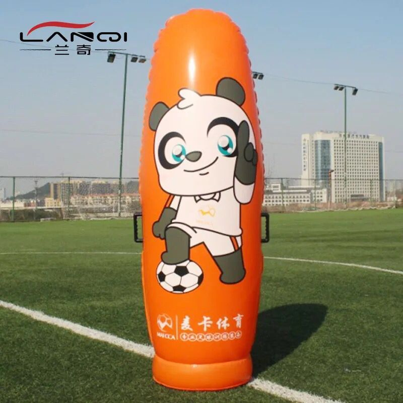 MAICCA Soccer training wall air inflation PVC Football fake person wall players tumbler dribbling assist free kick training kelme official mens soccer jerseys soccer training suits paintless football jerseys custom football kits uniforms soccer set 63