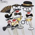 Gentleman Party Props Photobooth Accessories Funny Lips Mustache Pipe Photo Booth Props Photocall Kits Drop Shipping