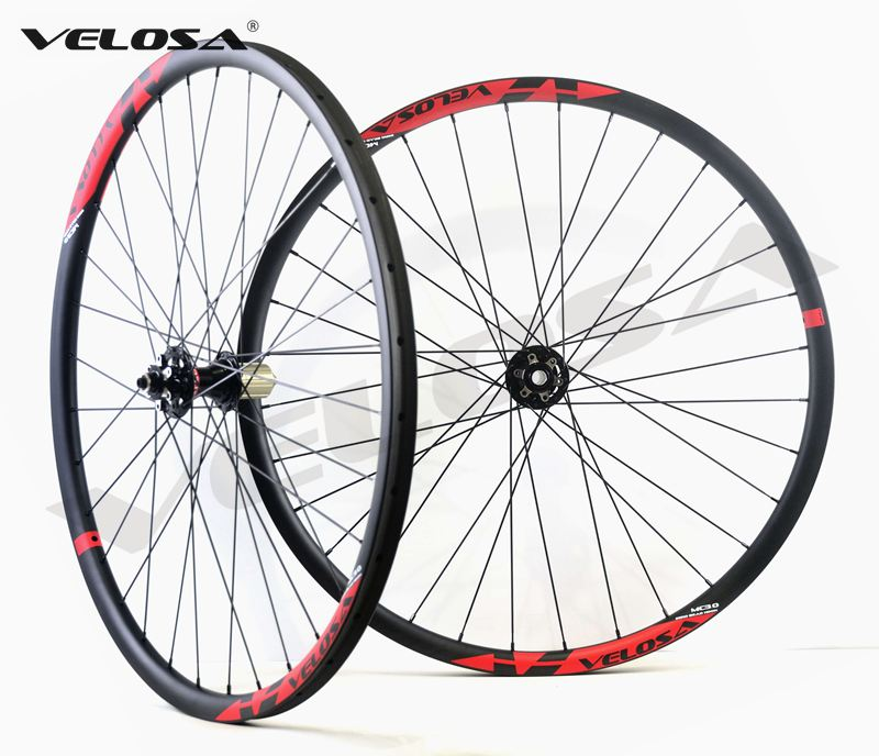 1420g super light 29er MTB XC boost carbon wheels 29inch boost carbon wheelset for mountain bike15x110
