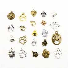 Charms For Jewelry Making Animal Footprints Dog Claw Bear Claws  Accessories Parts Creative Handmade Birthday Gifts