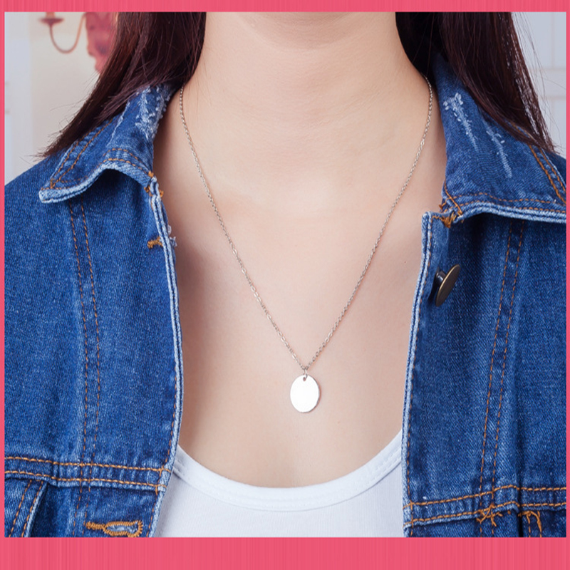 Qevila Choker Necklace Women Punk Silver Gold Color Coin Necklace Dainty Disc Pendant Necklace Minimalist Gold Coin Layering (4)