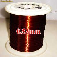 ChengHaoRan 0,53mm 1 mt QZY-2-180 Polyester-imide Hohe temperatur beständig emaillierten Kupfer Draht 1 meter