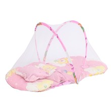 Pink/Blue Foldable Polyester Baby Infant Mosquito Net Tent Bed Crib Netting Canopy Pillow Mantle  sc 1 st  AliExpress.com & Buy pink canopy tent and get free shipping on AliExpress.com