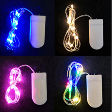 1M Copper Wire LED String Lights Holiday lighting Fairy Lights Battery Operated Christmas Garland For New Year Wedding Party Dec цена в Москве и Питере