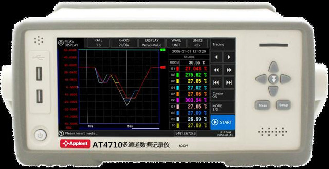 Multi-Channel Temperature Meter Tester hermocouple J K T E S N B R with Big LCD Display Temperature Data Logger