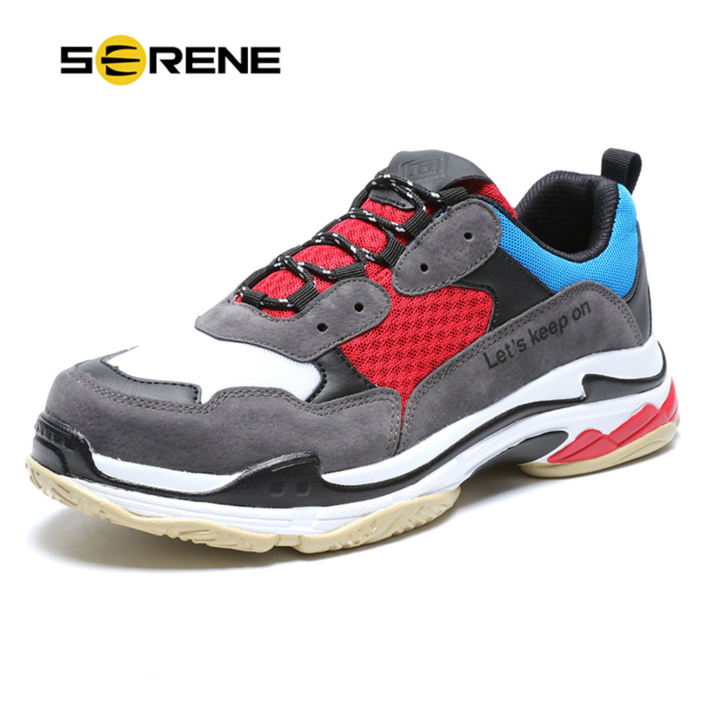 SERENE Fashion Mens Shoes Couples Big Size 39-46 Spring High Top Sneakers 2018 Men Lace-up Casual Black White Footwear Mesh ShoeSERENE Fashion Mens Shoes Couples Big Size 39-46 Spring High Top Sneakers 2018 Men Lace-up Casual Black White Footwear Mesh Shoe