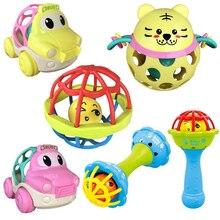 Детские погремушки игрушки 0-12 новорожденных раннее образование младенец безопасный ручной Колокольчик молоток игрушки подарки