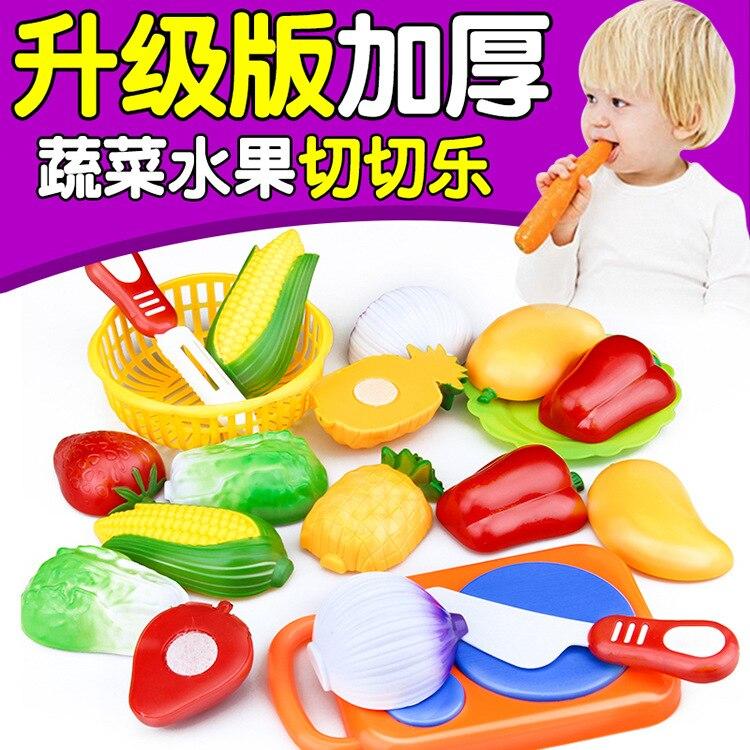 ninos de madera alimentos frutas y verduras de corte conjunto de colores juego de simulacion de cocina juguetes set
