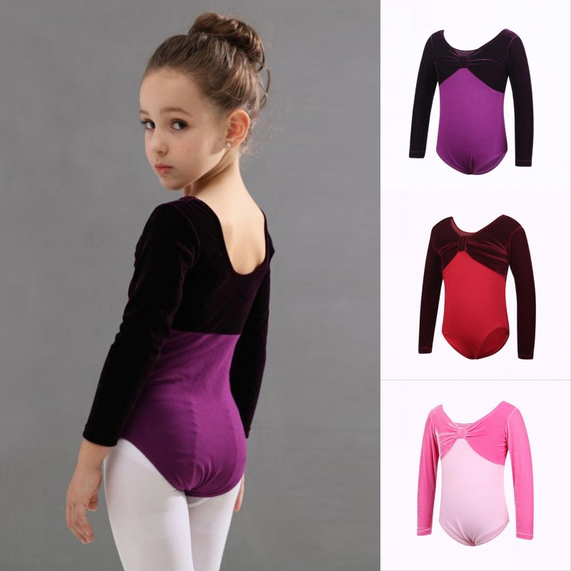 Kids Girl Ballet Dance Leotard Children Gymnastics Bodysuit Jumpsuit Dancewear