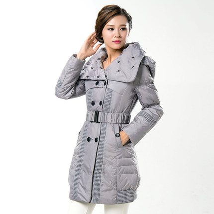 Wadded Jacket 2015 New Women's Winter Jacket Coat Women Slim Parkas Ladies Hooded Coats And Jackets Plus Size M-4XL H5637