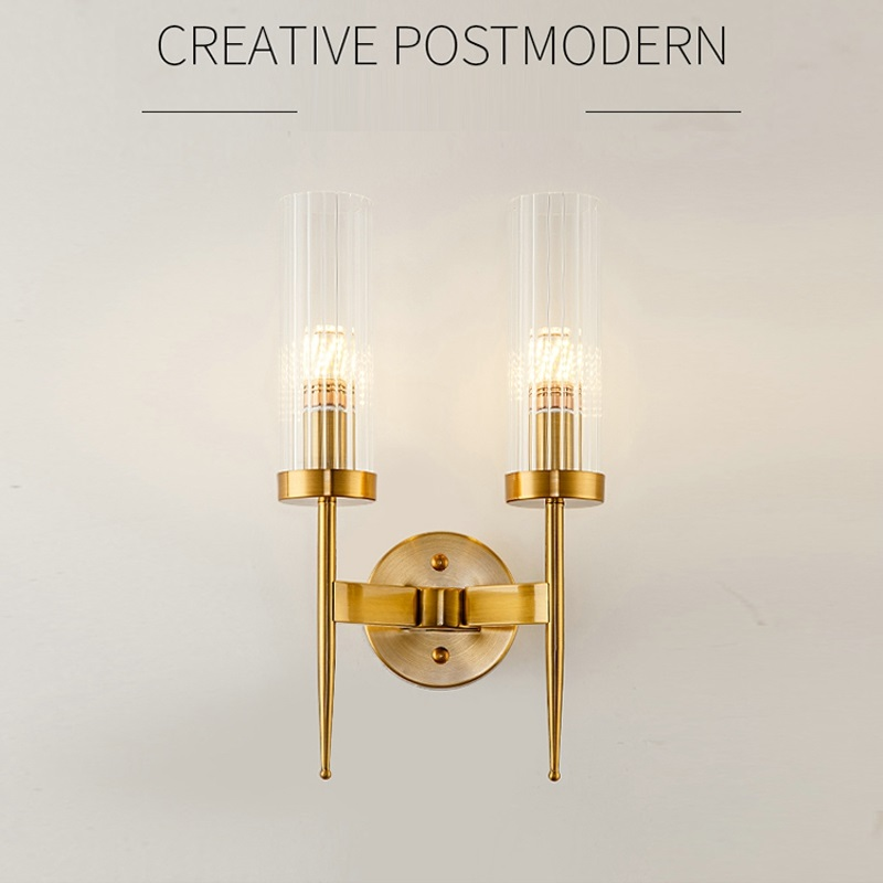 Post Modern LED Wall Lamp Entry lux Living room Wall Sconces Bedroom Bedside lamps Corridor Stairs Aisle Loft lights Decoration