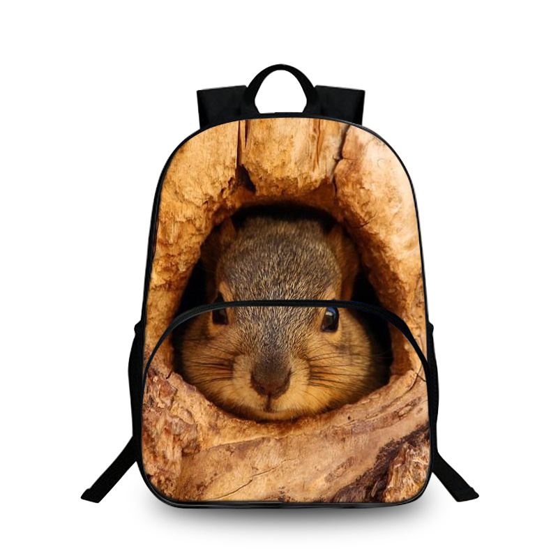BAOBEIKU 3D Backpacks Animals Fashion Print Pets Bags For Childrens School Laptop Kids Backpack Dropshipping