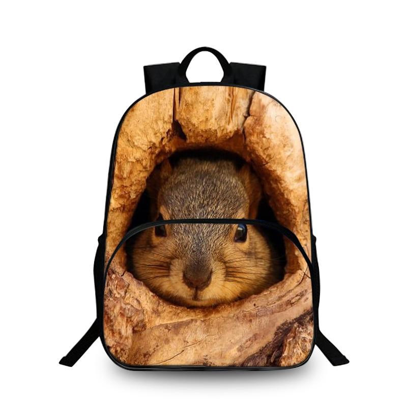 Baobeiku 3D Рюкзаки Животные модный принт домашних животных Сумки для детей школьная дети рюкзак для ноутбука дропшиппинг