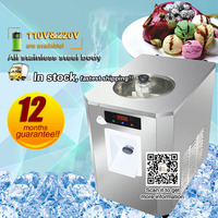 Commercial hard Ice Cream Machine 6L, electric ice cream maker machine with many flavors, mixer