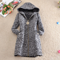 Nice Autumn Winter Fashion European And American Style Classics Popular women's Thick Hooded Wool Coat Coat Big Yards S1336