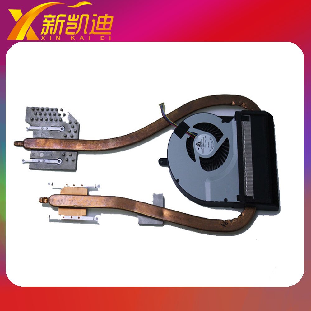 Original  CPU HEAT SINK FOR ASUS N76VZ N76VM cooling fan & heatsink 2816U2R DC05V 0.40A KSB0705HB medium computer cpu plastic cooling fan leaves card blower heat sink