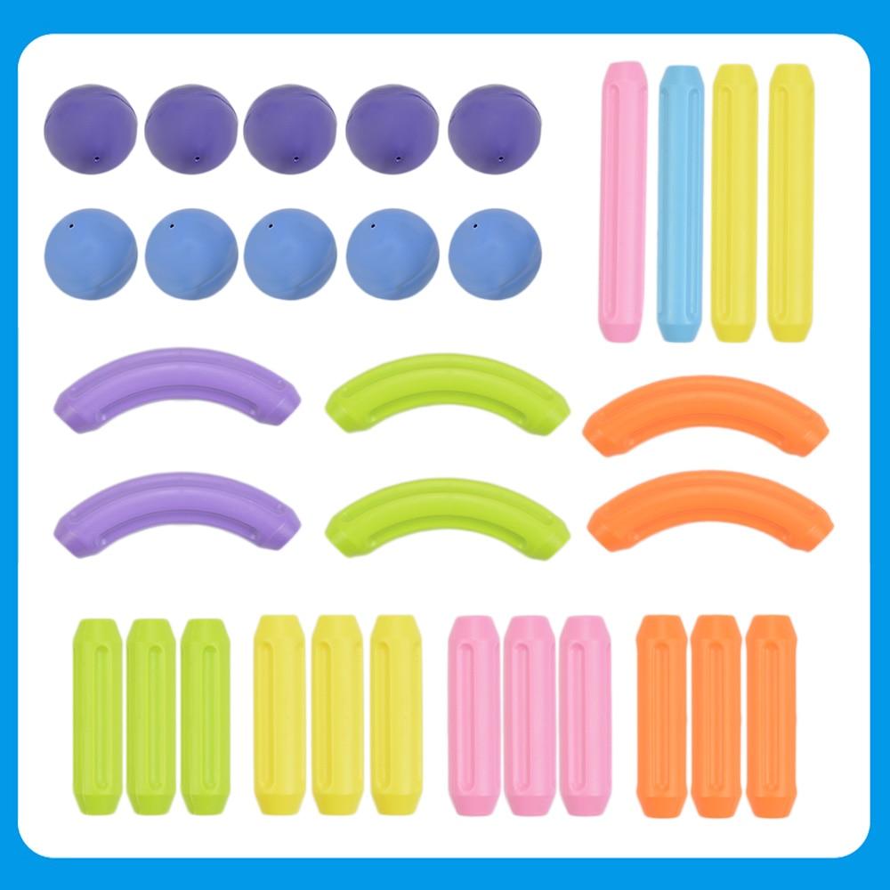 32 stücke magnetische spielzeug designer sticks und kugeln blöcke ...