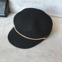 Змея цепи кости восьмиугольной cap шерсть шляпа