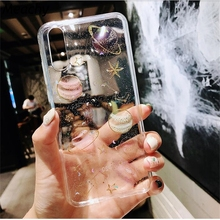 Meachy Space Planet Bling Silicone Phone Case Funda For Huawei P20 P30 Pro Lite P10 Plus Mate 20 10 Pro Honor 9 10 V10 8X Cover beautiful glass mobile phone funda cover for huawei honor 10 8x 8x max 9 9i 9lite note10 v10 v9 y9 2019 mate 20 lite p30 pro