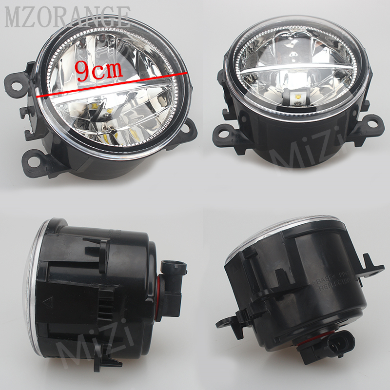 MZORANGE-For-Mitsubishi-OUTLANDER-PAJERO-GALANT-Grandis-L200-2003-2015-LED-fog-lights-Car-styling-Fog