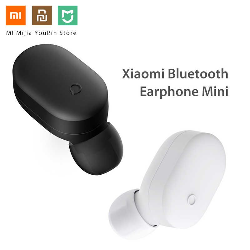 Oryginalny nowy Xiao mi bezprzewodowa Bluetooth 4.1 słuchawki mini zestaw słuchawkowy mi jia mi słuchawka do iPhone'a X Android wbudowany mi c zestaw głośnomówiący