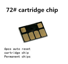 Auto Reset Chip for HP 72 Cartridge Chip for HP Designjet T610 T620 T790 T1100 T1120 T1200 T770 T2300 Printer Chip for HP 72 цена