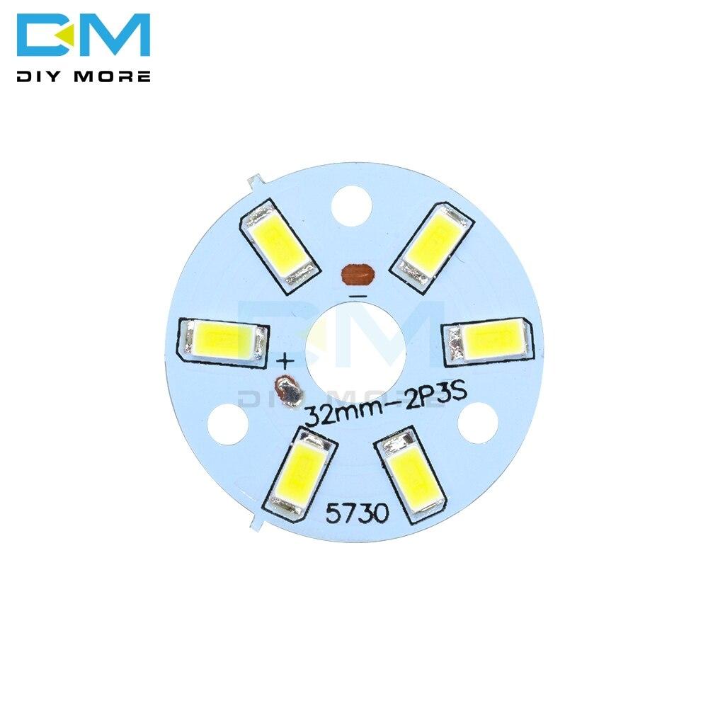 Светодиодный светильник SMD, светодиодный, 10 шт., 3 Вт, 5730