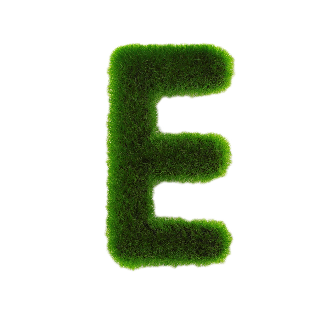 Буквенные предметы интерьера искусственный газон письмо искусственный газон украшение 26 слов ремесленный дом окно креативный - Цвет: E