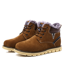 2016 Men boots Fashion Martin Boots Snow Boots Outdoor Casual cheap Timber boots Autumn Winter Lover shoes Botas Hombre