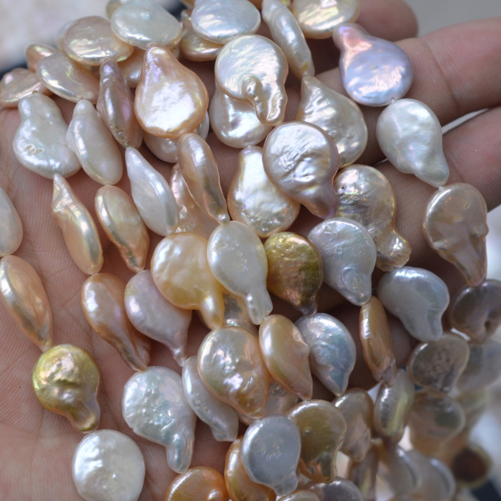 Free Shipping Drop Pearls Purple White Pink Freshwater Pearl Beads Full Strand Round Spacer Loose Beads free shipping 2500pcs mixed colors mixed sizes no hole round pearls no hole imitation beads craft pearl beads jewelry pearls