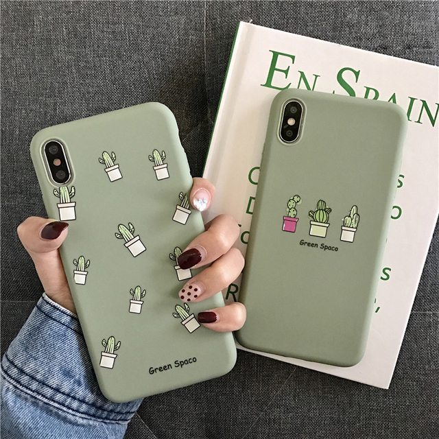 Phone Case For iPhone 11 6 6s 7 8 Plus X XR XS 11Pro Max Cute Cartoon Letter Deer Smiley Face Soft TPU For iPhone Cover 5