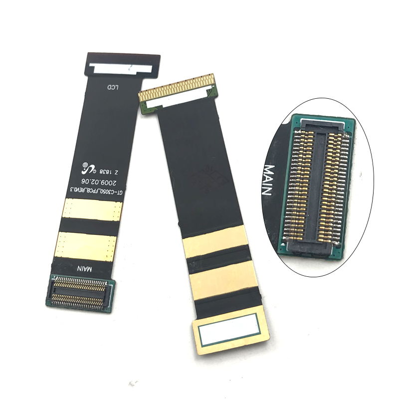 Hot Sale High Quality Compatible for Samsung GT C3050 GT-3050 <font><b>3052</b></font> LCD Display Connector Flex Ribbon Cable image