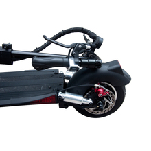 """NanRobot D5+ Adult Electric Scooter 10"""" Foldable Lightweight 2000W 52V 26AH Top Speed 40 MPH 40 Miles Range 2 Wheel kick-in Self Balance Scooters from Sports & Entertainment"""