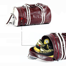 Large Sports Bag with Shoes Pocket