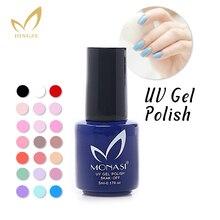 Monasi envío gratis nueva promoción de la llegada tres pasos Color azul empapa de clavo ultravioleta del Gel Gel esmalte Lak ( DA032 ~ DA062 )