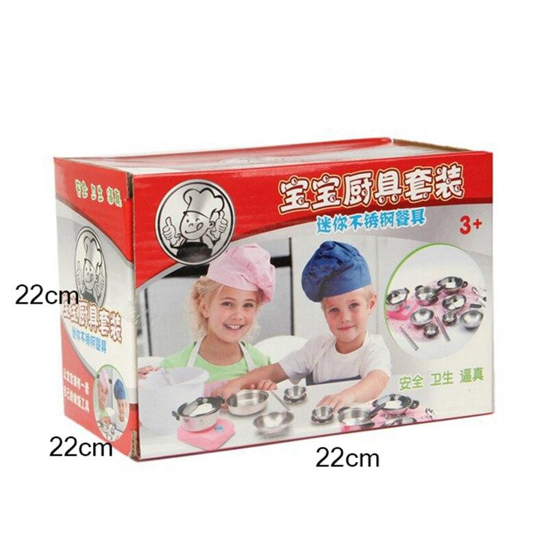 Kinder Täuschen Spiel küche Spielzeug 18 teile/satz Geschirr ...