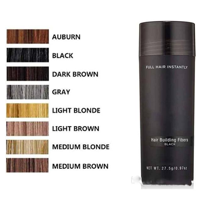 1 Bottle Hair Fiber Keratin Hair Building Fibers Powder Hair Loss Concealer Hair Care Growth Products 2