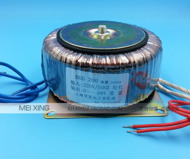 все цены на 48V 4.16A Ring transformer copper custom 200VA toroidal transformer 220V input for power supply amplifier онлайн