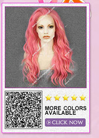 synthetic lace front wig 5