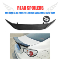 GT86 BRZ AB Carbon Fiber Rear Trunk Wings For Toyota Rear Trunk Spoiler Fit For GT86