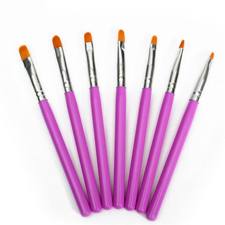 Nail Art Brush: Aliexpress.com : Buy Nail Brush Pen 7pcs Nail Art Brush